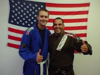The Philosophical Fighter with Gustavo Machado, circa 2009.